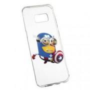 Husa de protectie Minion Avengers Samsung Galaxy S8 rez. la uzura anti-alunecare Silicon 203