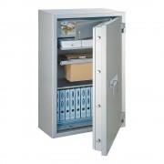 Rottner tűzálló páncélszekrény Mabisz G kategória Giga Paper Premium 140 kulcsos zárral alu fehér