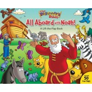All Aboard with Noah!: A Lift-The-Flap Book, Hardcover