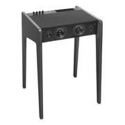 La Boîte Concept Enceinte Bluetooth LD 120 / Bureau - Pour ordi portable, iPod, iPhone - L 57 cm - La Boîte Concept anthracite en bois