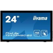 "Monitor touchscreen iiyama ProLite T2435MSC-B2, 24"", negru"
