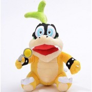 "Super Mario Bros / Brother Iggy Hop Koopa Bowser Koopalings 6"" Plush Plushies Anime Stuffed Animals Doll Toy"