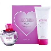 Moschino Pink Bouquet coffret VIII. Eau de Toilette 50 ml + leite corporal 100 ml
