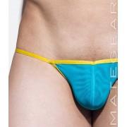 Mategear Nam Woo XVI Double Mesh Front Mini Bikini Swimwear Deep Sky Blue 1870703