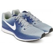 Nike AIR ZOOM PEGASUS 34 Running Shoes For Men(Blue, Grey)