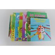 Sticker en kleur boeken set - 3 tot 9 jaar - Set van 7 stuks - Uren speelplezier - Stickerboek - Kleurboek