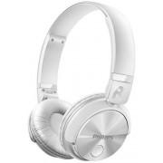 Casti Stereo Philips SHB3060WT, Bluetooth (Alb)
