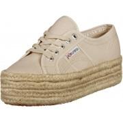 Superga 2790 Cotropew Damen Schuhe beige Gr. 41,0