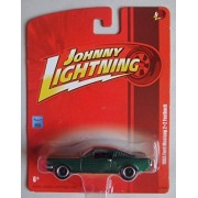 Johnny Lightning Green 1965 Ford Mustang 2+2 Fastback