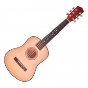 Chitara din lemn pentru copii, 75 cm