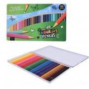 Set de 36 creioane colorate Karll, lemn