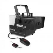 Beamz Rage 1000 Máquina de humo con mando a distancia 1000W 125m³/min Depósito de 2l (Sky-160.710)