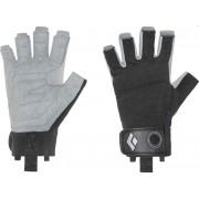Black Diamond Crag Half-Finger black 2017 Klettersteig handschoenen