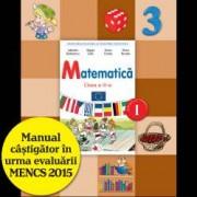 Matematica. Manual pentru clasa a III-a semestrul I contine editie digitala