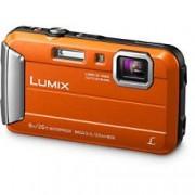 Panasonic Digital Camera Lumix DMC-FT30 16.1 Megapixel Orange