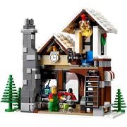 Generic 945pcs Winter Village Toy Shop Creator Christmas Tree Building Bricks Blocks Toys Compatible 10249 Lepine LELE 39015