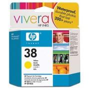 Toneri za InkJet i Plotere No.38 Žuta Pigment Ink Cartridge Vivera za photosmart pro b9180 C9417A H