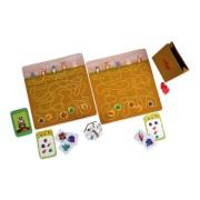 Joc interactiv Petrecerea din padure, 20 de jetoane cu alimente, 33 x 12.7 x 6.5 cm