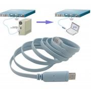 USB A RJ45 Cable De La Consola De Serie Express Routers Net Cable Para Cisco Router-azul