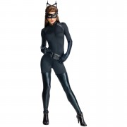 DC Comics Women's Catwoman Fancy Dress - S/UK 8-10 - Multi