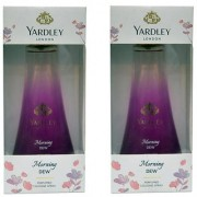 Yardley London Morning Dew Cologne Combo Perfumes 100ML Each Pack of 2