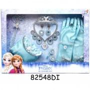 Set accesorii pentru fetite Frozen, 12 piese, 3 ani+