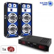 "Set audio Blue Star Series ""Basssound Bluetooth"" 1000W"