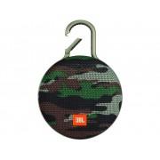 JBL Clip 3 Bluetooth luidspreker Handsfree-functie, Outdoor, Spatwaterdicht Camouflage
