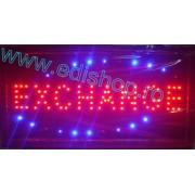 Reclama LED - EXCHANGE -