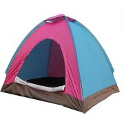 IBS PORTABLE ADVENTURE HIKING KIDS FAMILY CHILDREN PICNIC TRAVEL IiNSTANT OUTDOOR CAMPING WATERPROOF 6 PERSONS TENT