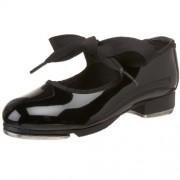 Capezio Toddler/Little Kid Jr.Tyette N625C Tap Shoe Black Patent 5.5 M US Toddler