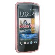 Силиконов гръб ТПУ за HTC Desire 500 Розов