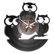 Disc'O'Clock Orologio Da Parete Tre Civette Sul Como'