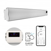 Klarstein Cosmic Beam Smart 30, инфрачервен нагревател, 3000 W, контрол чрез приложение, бял (ACO7-CosmicBeSm30-WH)