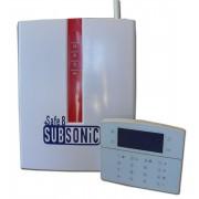 Centralina d'allarme GSM TCP-IP GPRS con sensore subsonico