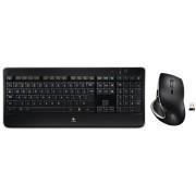 LOGITECH MX800 - Tastatur-/Maus-Kombination, Funk, schwarz