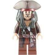 Lego Pirates Of The Caribbean: Captain Jack Sparrow With Tricorne Minifigure