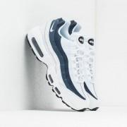 Nike Air Max 95 Essential White/ White-Midnight Navy-Monsoon Blue