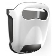 Vama Sèche-Mains Hands-in Blanc Très Silencieux 60dB - 10 sec - avec Bac d'Égouttage