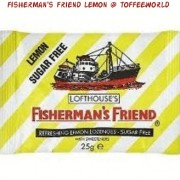 Fishermans Friend Sugar Free Refreshing Lemon Lozenges