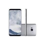 Smartphone Samsung Galaxy S8 Dual Chip Android 7.0 Tela 5.8 Octa-Core 2.3GHz 64GB 4G Câmera 12MP - Prata