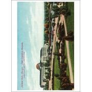 Chicago, Il South Side Parks; Panoramic View Of Jackson Park, Field Columbian Museum (Playing Card Deck 52 Card Poker Size With Jokers)