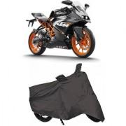 De AutoCare Premium Quality Grey Matty Two Wheeler Bike Body Cover For KTM Duke