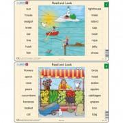 Set 10 Puzzle-uri Read and Look 1 -10 (EN), 16 piese