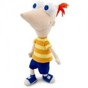 """Disney TALKING Phineas and Ferb PHINEAS Plush Doll -- 14"""""""