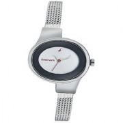 Fastrack Economy Analog Silver Dial Womens Watch - Ne6015Sm01