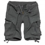 Brandit Vintage Classic Shorts Svart Grå 2XL
