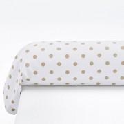 La Redoute Interieurs Fronhas de travesseiro, em puro algodão, CLARISSEBege/Branco- 85 x 185 cm