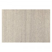 Miliboo Elfenbeinfarbener Wollteppich 140 x 200 cm WOOL