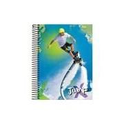 Caderno de 20 Matérias, Foroni 8004, Multicor, Pacote com 2 Unidades